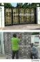 ซ่อมทำสีประตูอัลลอยด์